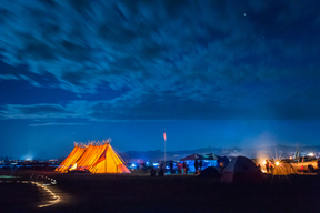 Dakota Access Pipeline Red Warrior Camp