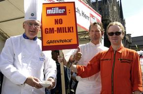 Action against GE Mueller Milk in Germany
