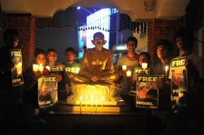 'Arctic 30' Global Day of Solidarity in Mumbai