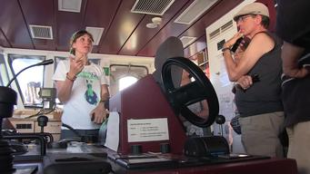 Rainbow Warrior United for Climate Tour Open Boat in Siracusa - Clipreel
