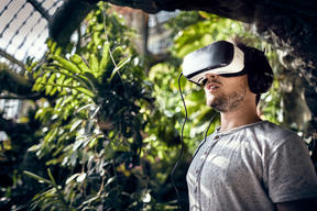 "Presentation of Virtual Reality Video ""Into the Woods"" in Vienna"