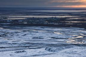 Prudhoe Bay Oil Field in Alaska
