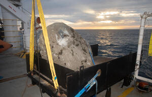 Boulder Placement  in the Dogger Bank in the North Sea