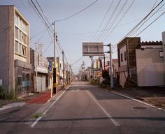 Contaminated Streets in Namie Town