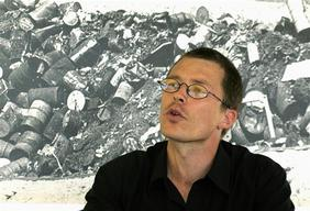 Toxics Action Dump Site Portrait of Matthias Wuethrich