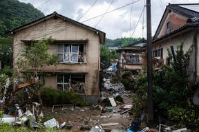 Heavy Rains Cause Destruction in Kyushu, Japan