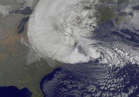 Hurricane Sandy in US