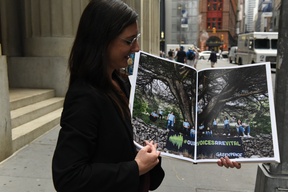 'Our Voices Are Vital' Book Delivery to Publishers in New York