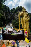 Break Free from Plastic Activity in Batu Cave, Malaysia