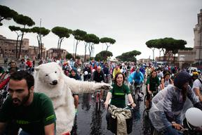 Save the Arctic Ice Ride in Rome