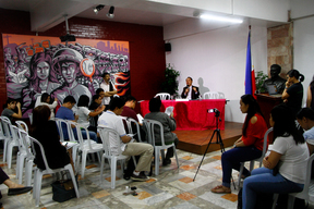 Press Conference At the CHR
