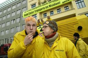 Action against Nuclear Transports in Germany