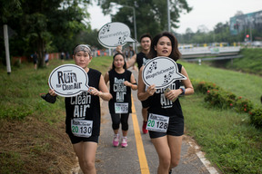 Run for Clean Air Event in Chiang Mai