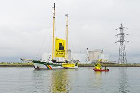Beluga Tour Against Nuclear Power Plants in Europe