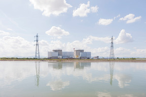 Nuclear Power Plant Fessenheim in France