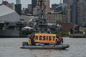 Intrepid Resistance for Trump in New York