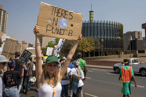 Global Climate Strike in Johannesburg, South Africa