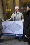 Greenpeace Delivers 27000 Signatures to Fisheries Minister Bucht