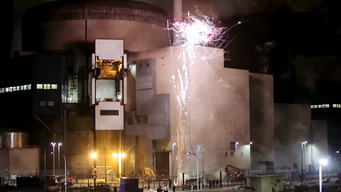 Fireworks to Highlight Vulnerability of Cattenom Nuclear Plant in France