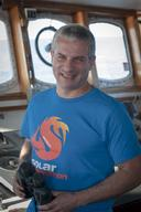 Captain Daniel Rizzotti on Arctic Sunrise
