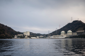 Takahama Nuclear Power Plant in Japan