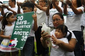 '30 Days of Injustice' Global Day of Solidarity in Manila