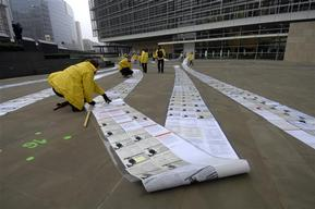 One Million Signatures on GMO Petition in Brussels