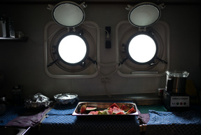 Galley of the Arctic Sunrise