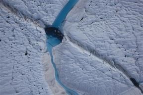 Petermann Glacier in Greenland