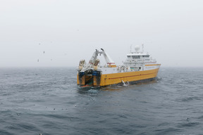 Bottom Trawler in the Barents Sea