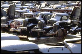Rassohka Radioactive Car Dump in Ukraine