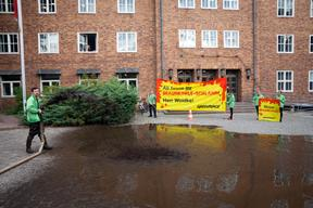 Action against Pollution of Wudritz River in Germany