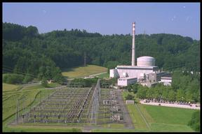 25 year old Muehleberg Nuclear Power Plant, Canton of Berne, Switzerland