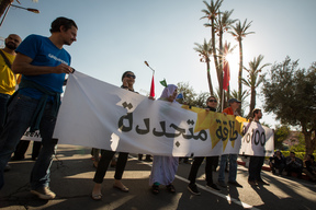 Climate March for COP22 in Marrakech