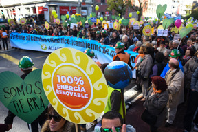 COP21: Climate March in Madrid