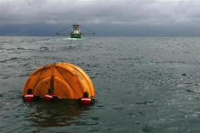 Oceans Action against Dutch Trawler in the North Sea