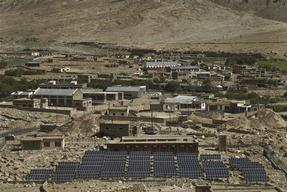 Solar Photovoltaic Power Plant in Tangtse