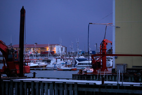 Harbour in Andenes in Northern Norway