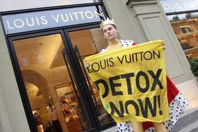 Detox Action at Louis Vuitton Shop in St. Petersburg