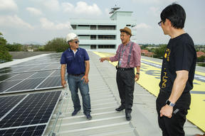 First Solar Hospital Launch in Thailand