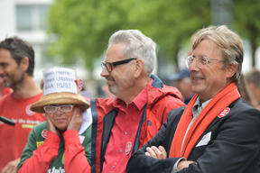 Protest against Growth of Aviation in Maastricht