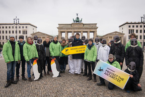 Group Action Day in Berlin for an Antarctic Sanctuary