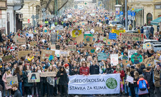 Fridays for Future - Global Student Strike in Prague