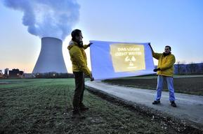 Projection on Nuclear Plant Isar I