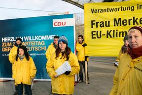 Climate Action at CDU Convention in Germany