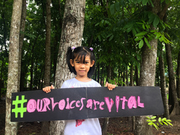 """Our Voices Are Vital"" Activity in Bacolod City, Philippines"