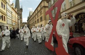 Action Against GMO Law in Prague