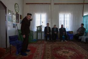 Imam at a Mosque in Russia