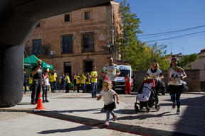 Nuclear Running Dead Action in Guadalajara, Spain