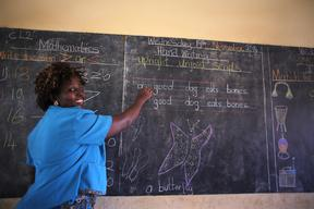 School Teacher in Cameroon